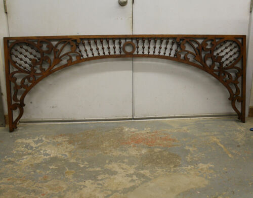 Antique Victorian Oak Architectural Fretwork or Gingerbread – Fancy stick and ba