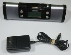 iHome iP16 Portable Speaker Sys iPod/iPhone Dock/Charge Station & Alarm Clock