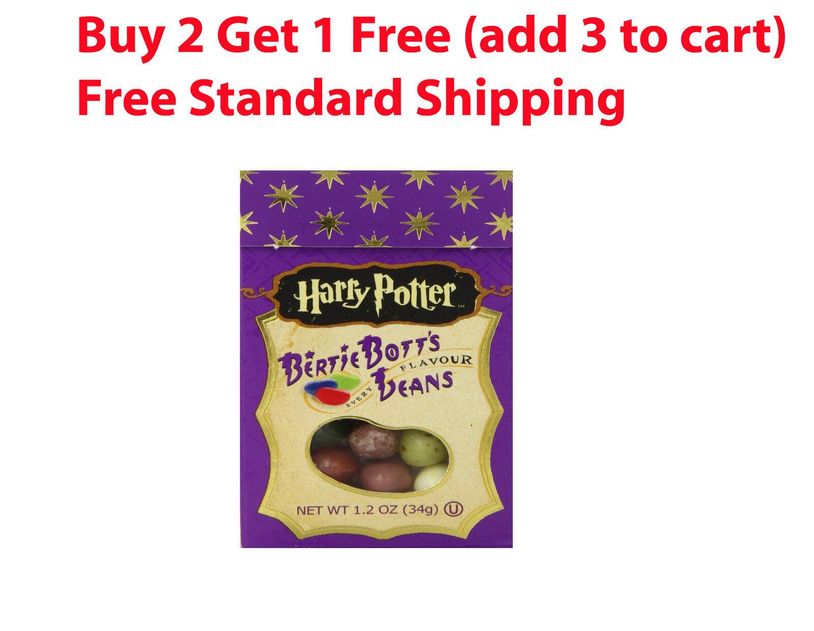 Harry Potter jelly Belly Beans BERTIE BOTTS 1.2 oz Every Fla