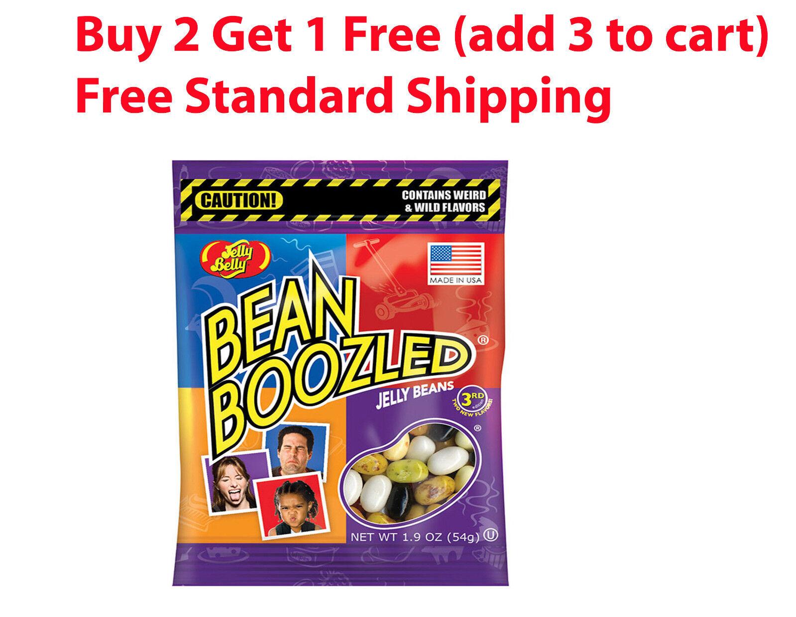 Bean Boozled Jelly Belly 1.9 oz game fun Weird Wild beanbooz