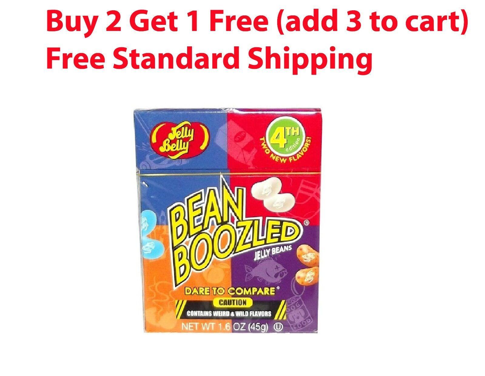 Bean Boozled Jelly Belly 1.6 oz 4th Edition Weird Wild beanb