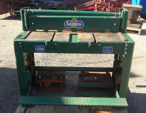 "Famco 36"" 16 ga, Model F36 Foot Shear"