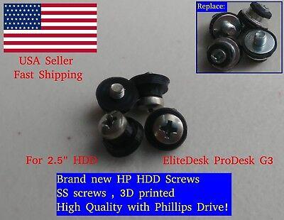 """как выглядит Корпус, контейнер или запчасть для жесткого диска 4X HP 2.5"""" HDD SDD Screws EliteDesk ProDesk G3 - Pro EliteOne G1 G2 511945-005 фото"""