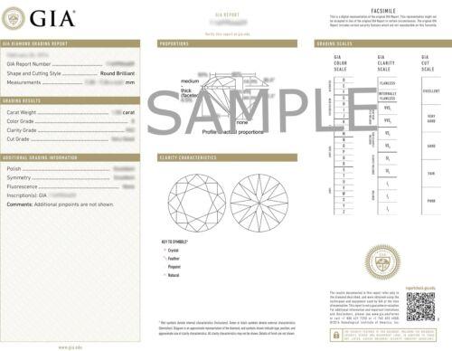 Round Diamond Engagement GIA F SI1 Platinum Halo Pave Set Designer Ring 2.28ct 6