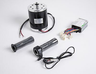 500 W 36 V Dc Electric 1020 Motor Kit W Speed Control Throttle F Scooter Ebike