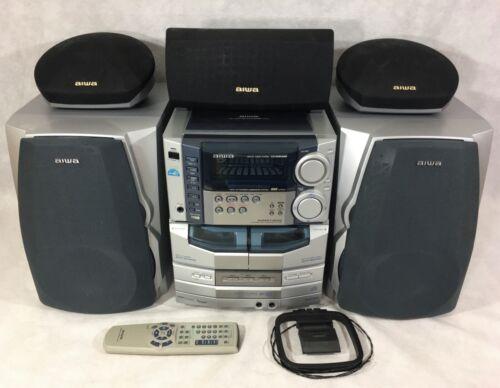 Aiwa CX-NHMA86 Stereo Digital Audio System 7 Channel Amp