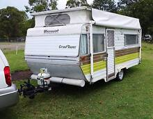 14ft 1982 VISCOUNT GRAND TOURER CARAVAN, ROLLOUT AWNING, Burpengary Caboolture Area Preview