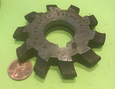 Involute Gear Cutter Hss Machine Shop Watch Maker Machine Shop No 6 6 P Used