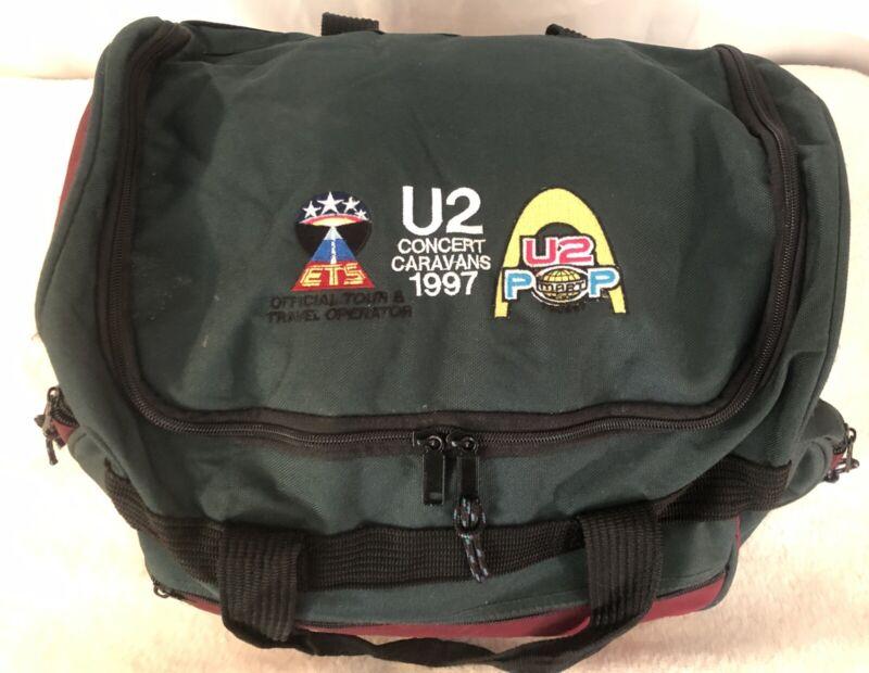 U2 1997 PopMart Tour Concert Caravans Canvas Travel Tote Bag