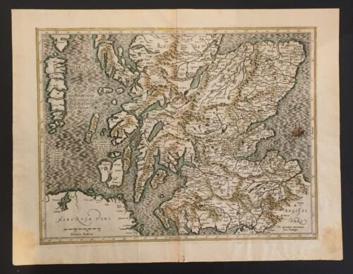 Antique map ,Hibernie Pars