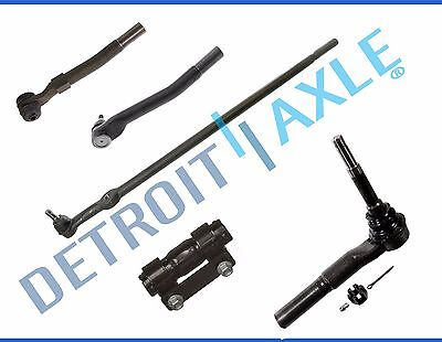 Front Tierod Drag Link Kit for 05-16 Ford F-250 F-350 Super Duty - 4WD 4x4 5pc