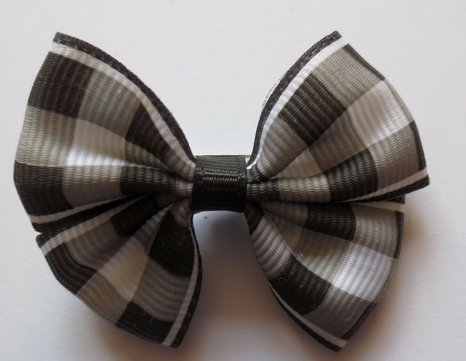 MANY COLOURS LADIES//GIRLS ABSTRACT PATTERN BOW HAIR SLIDES 50MM X 40MM