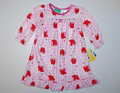 Nachthemd~USA~74-80~Mädchen~ELMO~Flanell~Sesamstrasse~Kleid~Sesame - Sesame Street Kleider