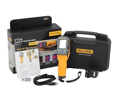 Brand New Fluke Vt04a Visual Ir Thermometer Original Box