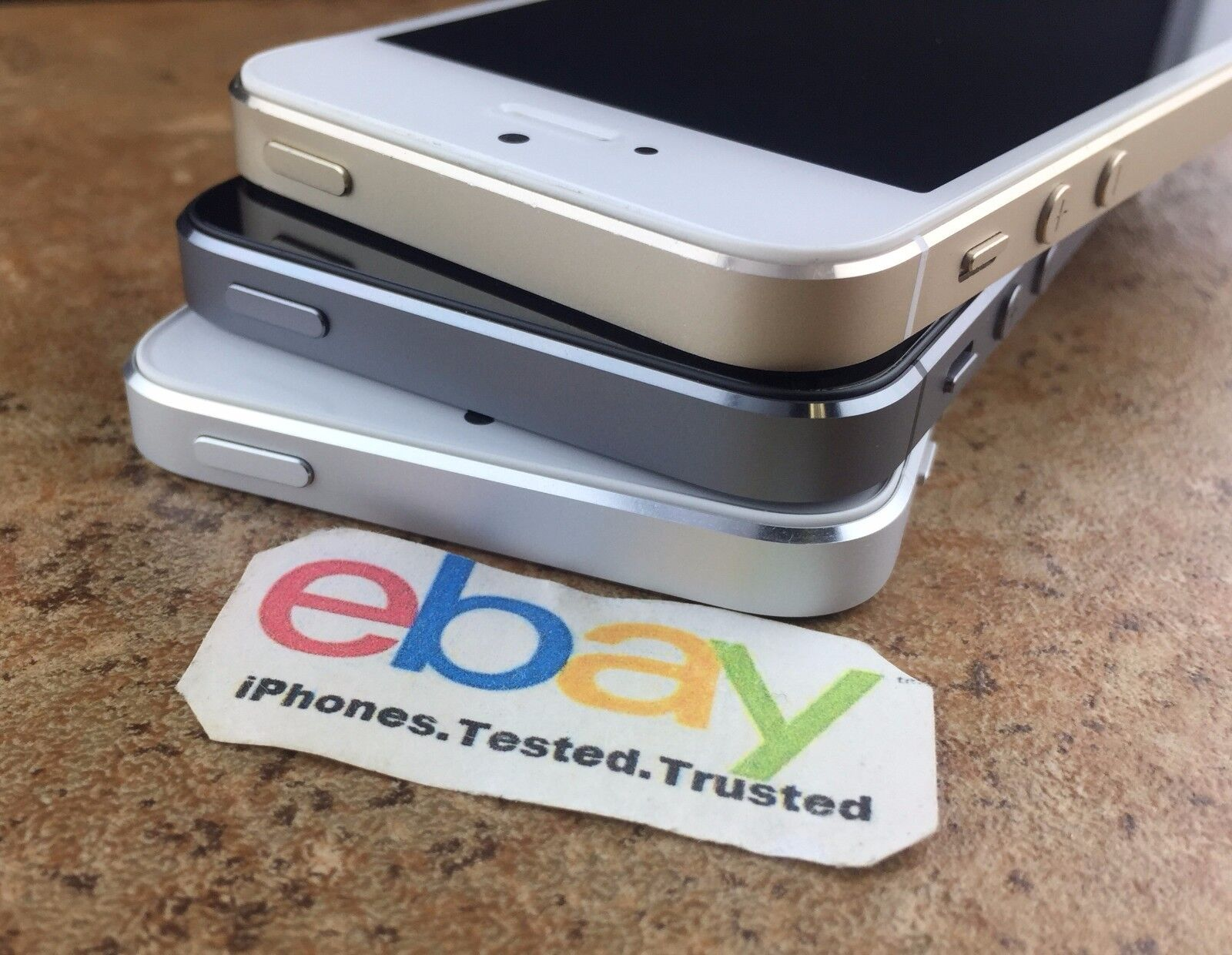 Iphone - Factory Unlocked Apple iPhone 5S Gold Silver Space Gray ATT TMobile 16/32GB/64GB