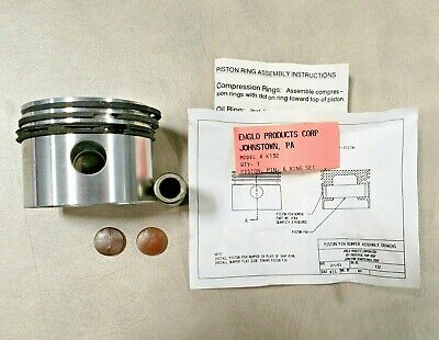 Emglo K132 Jenny Air Compressor 610-1028 Pump Piston Assembly Kit K32 220-1005