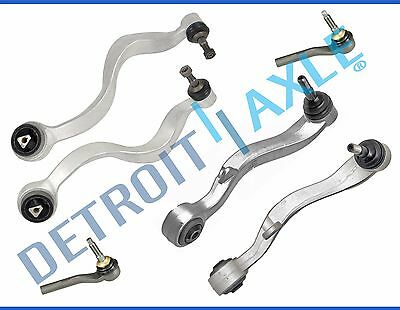 New All 4 Premium Front Lower Control Arms  Ball Joints  Outer Tie Rod Links
