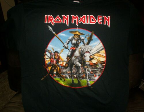 Iron Maiden Official 2018 Spain Event Shirt Dated XL Legacy of the Beast