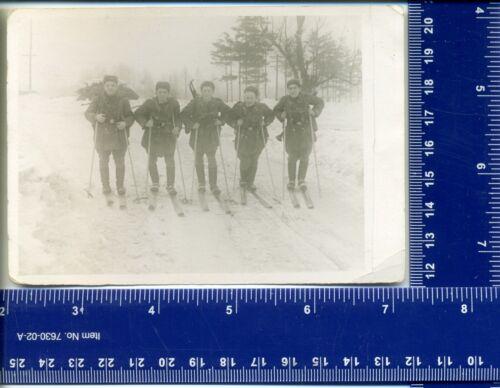 WW Military photo Special Forces Gun USSR uniform Winter Skier Reconnaissance