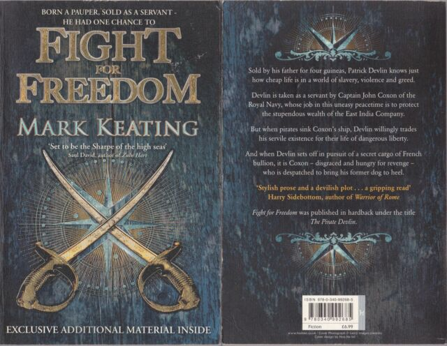 Mark Keating 01 Fight for Freedom 2010 (Hodder 2010)