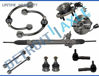11pc Complete Power Steering Rack and Pinion Suspension Kit for Jeep w/ ABS