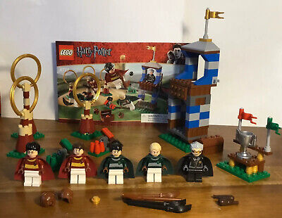 LEGO Harry Potter 4737 Quidditch Match 100% Complete No Instructions