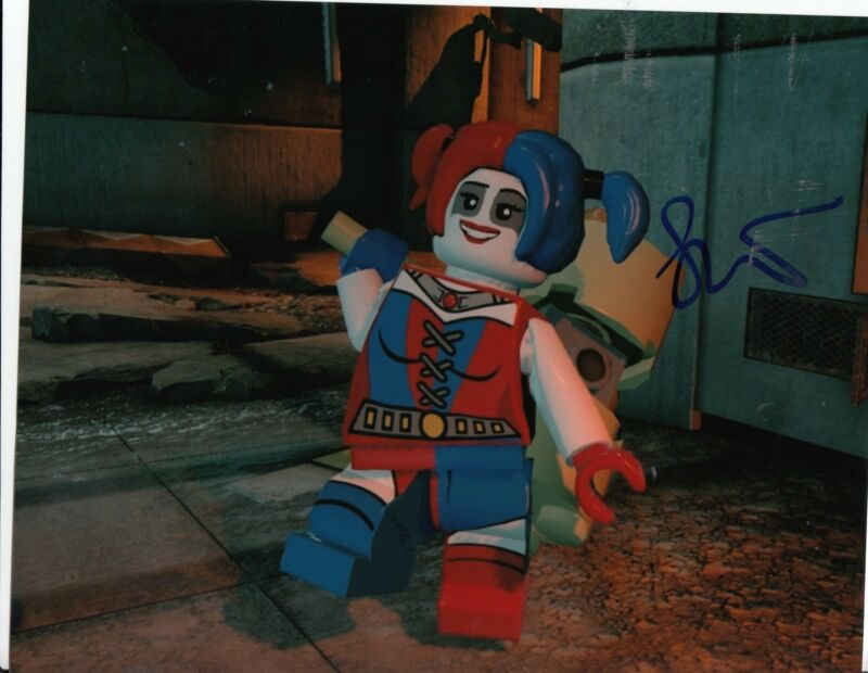 JENNY SLATE signed *THE LEGO BATMAN MOVIE* 8X10 photo Harley Quinn W/COA #1