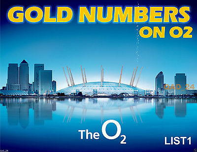888 Golden Platinum GOLD VIP EASY MEMORABLE MOBILE NUMBER O2 SIM CARD - DIAMOND