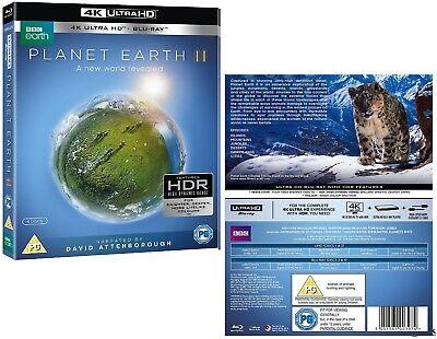 Planet Earth Ii 2016  4K Uhd   Blu Ray   David Attenborough Sequel Tv Series New
