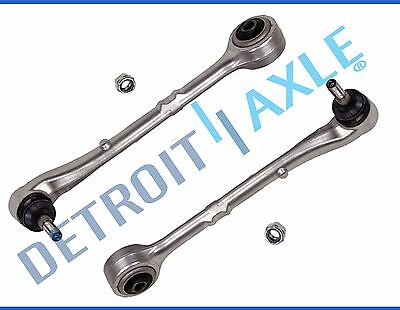 Pair (2) Front Lower Forward Control Arms + Ball Joints for BMW 740i 740iL 750iL