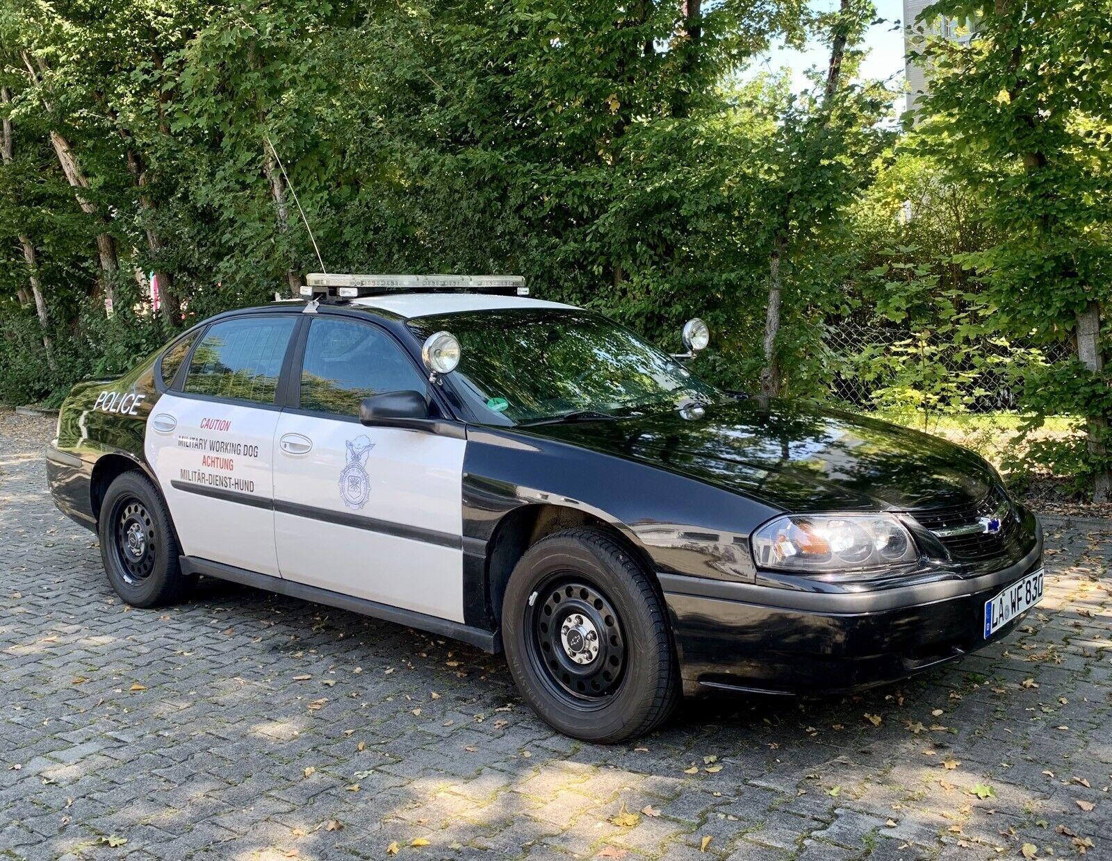 Abbildung des Autos Chevrolet Impala Police …