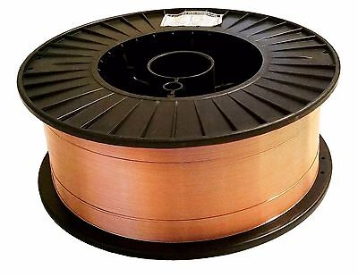 33 Lb Roll .035 Mild Steel Mig Welding Wire Er70s-6 Fast Free Shipping