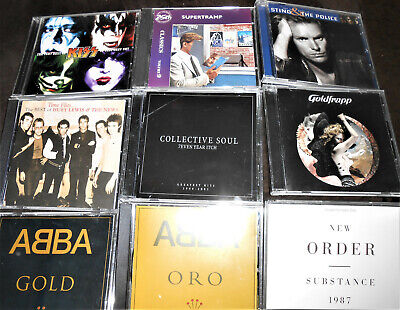 15 Greatest Hits CD Yaz Police New Order Kiss Supertramp Abba GoldFrapp MONKEES