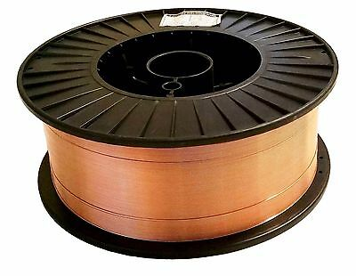 33 Lb Roll .035 Mild Steel Mig Welding Wire Er70s-6 Layer Wound