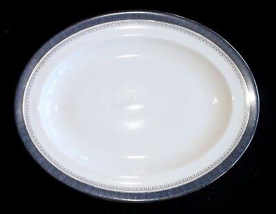 Royal Doulton Sherbrooke Fine Bone China Small Oval Platter - H5009 - England ()