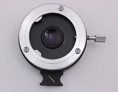Nikon Intermediate Polarizer Slider Lens For Optiphot Labophot Pol Analyzer