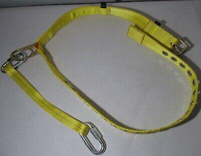 Waist Safety Belt With D-ring Tree Climbing Climber Miner Universal S M L Xl