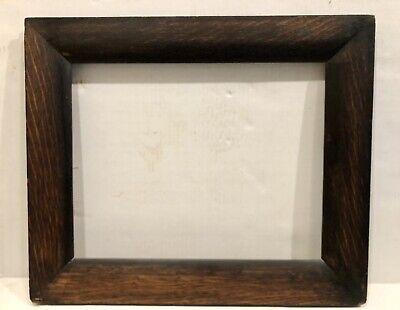 "11/""x14/"" Dark Cherry finish Oval ReadyMade Picture//Photo Frame 1//2"" Deep Rabbit."