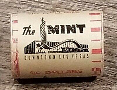 Rat Pack Era 1950's THE MINT CASINO Las Vegas $10 Silver Half Dollar Roll 20Coin