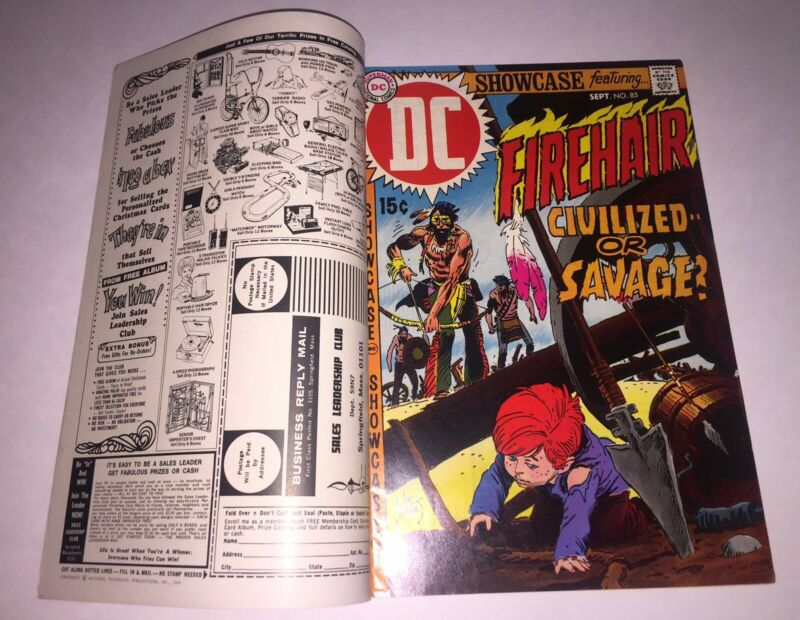 SHOWCASE #85 Double Cover Error Misprint ~ JOE KUBERT DC PRESENTS 🔑