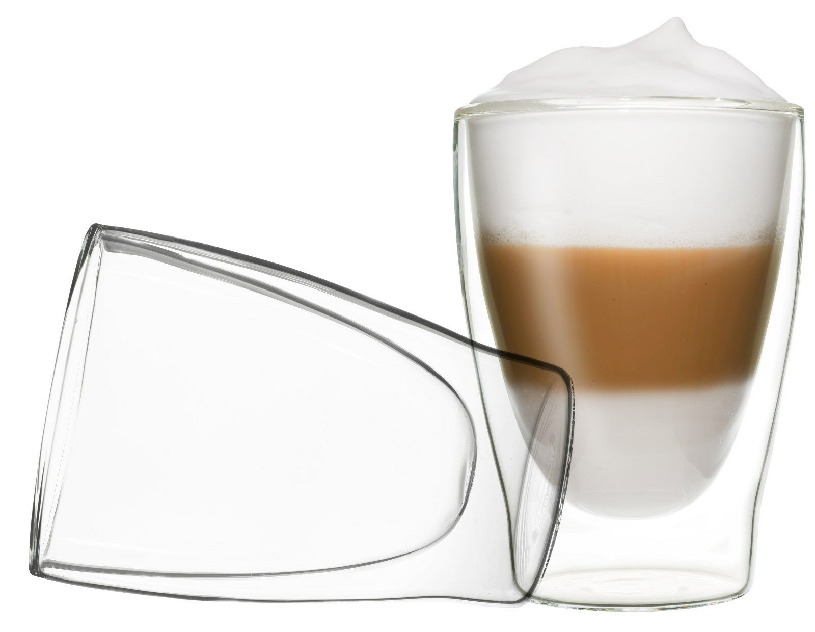 2x 310ML DUOS THERMOGLÄSER DOPPELWANDIG LATTE MACCHIATO COCKTAIL EIS TEE