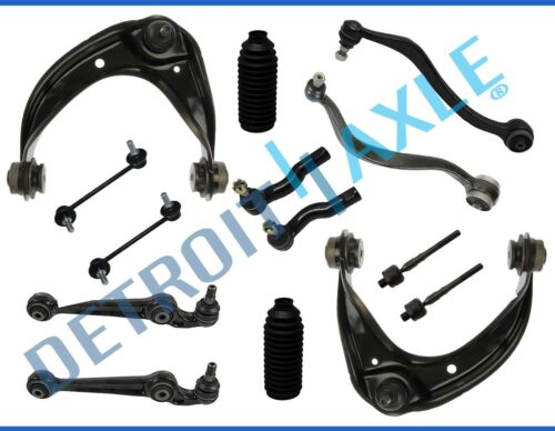 06-07 Ford Fusion MKZ Milan 14pc Front Upper Lower Control Arms & Suspension Kit