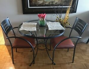 Three-Piece BREAKFAST TABLE SET (Made in Canada)