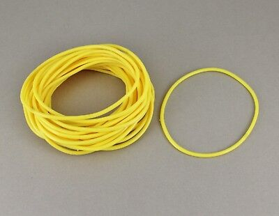 Yellow set pack lot of 30 jelly rubber gummy bangle bracelet 80s - 80s Jelly Bracelets