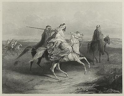 Wandernde Arbaber. A. H. Payne, um 1840