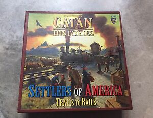 Catan: Settlers of America - Trails to Rails