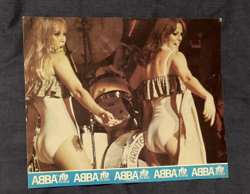 ABBA The Movie Rare Lobby Card Photos Set Of 4
