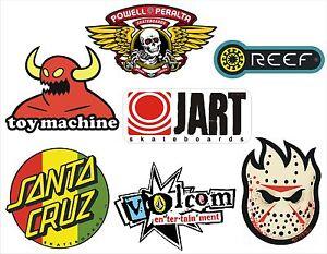 7-pegatinas-Skate-Snow-Surf-Toy-Machine-Reef-Jart-Volcom-Powell-Peralta