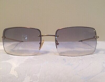 VINTAGE GUCCI GREY TINTED SUNGLASSES Made In Italy