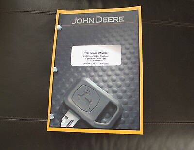 John Deere 640h 648h Skidder Service Operation Test Manual Tm11795